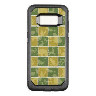 Capa OtterBox Commuter Para Samsung Galaxy S8 teste padrão temático do jardim zoológico