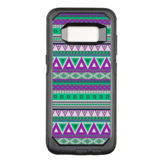 Capa OtterBox Commuter Para Samsung Galaxy S8 teste padrão tribal extravagante da beira 08 (i)