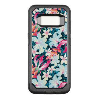Capa OtterBox Commuter Para Samsung Galaxy S8 Teste padrão tropical colorido