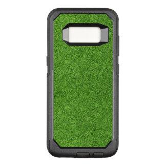 Capa OtterBox Commuter Para Samsung Galaxy S8 Textura bonita da grama verde do campo de golfe