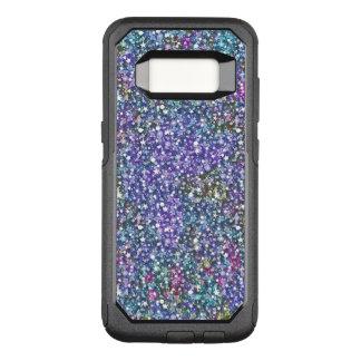 Capa OtterBox Commuter Para Samsung Galaxy S8 Textura G4 do brilho do roxo & do verde
