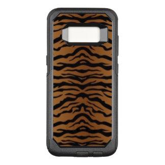Capa OtterBox Commuter Para Samsung Galaxy S8 Tigre preto de Brown