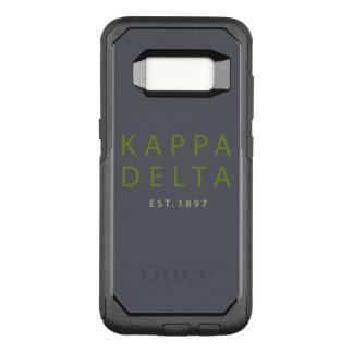 Capa OtterBox Commuter Para Samsung Galaxy S8 Tipo moderno do delta do Kappa