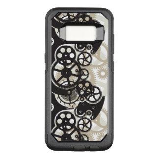 Capa OtterBox Commuter Para Samsung Galaxy S8 Trabalho das rodas da roda denteada