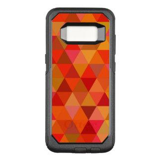 Capa OtterBox Commuter Para Samsung Galaxy S8 Triângulos quentes do sol