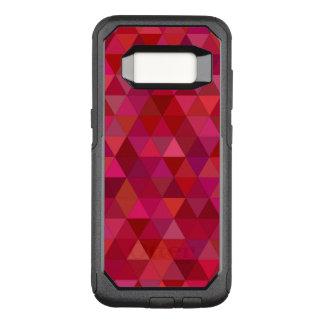 Capa OtterBox Commuter Para Samsung Galaxy S8 Triângulos sangrentos