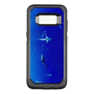 Capa OtterBox Commuter Para Samsung Galaxy S8 Tubarões subaquáticos