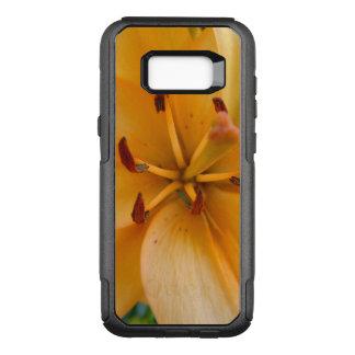 Capa OtterBox Commuter Para Samsung Galaxy S8+ Um lírio alaranjado Peachy