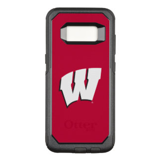 Capa OtterBox Commuter Para Samsung Galaxy S8 Universidade de Wisconsin | do logotipo de