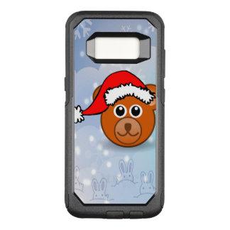 Capa OtterBox Commuter Para Samsung Galaxy S8 Urso do Natal