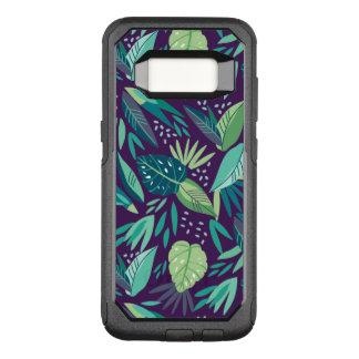 Capa OtterBox Commuter Para Samsung Galaxy S8 Variedade de teste padrão tropical verde das