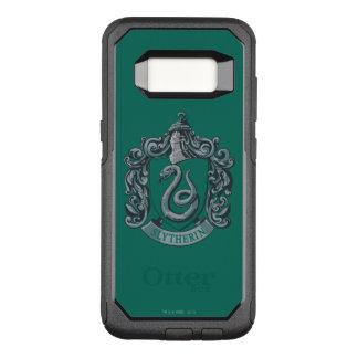 Capa OtterBox Commuter Para Samsung Galaxy S8 Verde da crista de Harry Potter   Slytherin