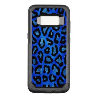 Capa OtterBox Commuter Para Samsung Galaxy S8 Vetor azul de néon da chita