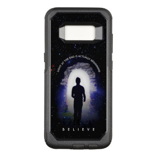 Capa OtterBox Commuter Para Samsung Galaxy S8 Vida além da morte com luz na extremidade do túnel