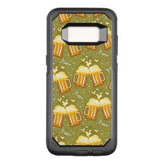 Capa OtterBox Commuter Para Samsung Galaxy S8 Vidros do teste padrão da cerveja