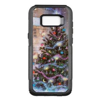 Capa OtterBox Commuter Para Samsung Galaxy S8+ Vintage da árvore de Natal