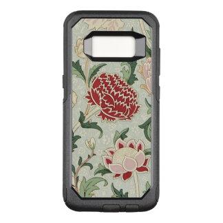 Capa OtterBox Commuter Para Samsung Galaxy S8 Vintage floral do Pre-Raphaelite de William Morris
