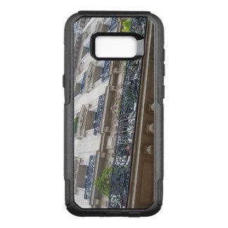 Capa OtterBox Commuter Para Samsung Galaxy S8+ Vista acima em balcões franceses