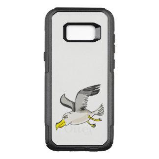 Capa OtterBox Commuter Para Samsung Galaxy S8+ Vôo da gaivota dos desenhos animados aéreo