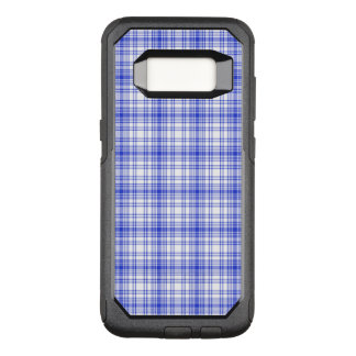 Capa OtterBox Commuter Para Samsung Galaxy S8 Xadrez branca azul 2