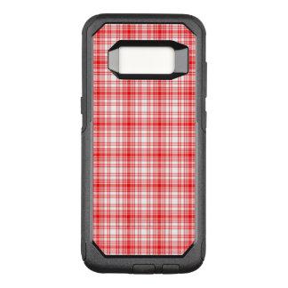 Capa OtterBox Commuter Para Samsung Galaxy S8 Xadrez vermelha