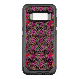 Capa OtterBox Commuter Para Samsung Galaxy S8 Zebra fluorescente Funky