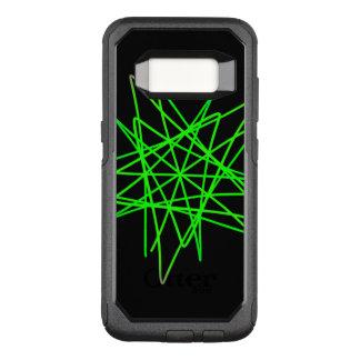 Capa OtterBox Commuter Para Samsung Galaxy S8 Ziguezague verde