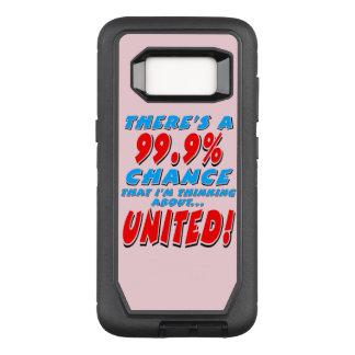 Capa OtterBox Defender Para Samsung Galaxy S8 99,9% UNIDO (preto)