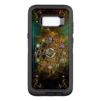 Capa OtterBox Defender Para Samsung Galaxy S8+ A CONEXÃO DA PROSPERIDADE: Gemas da fortuna