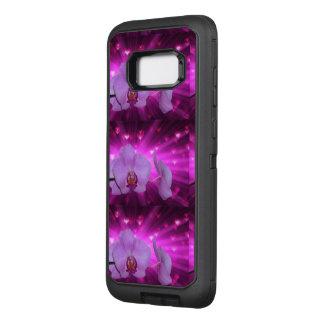 Capa OtterBox Defender Para Samsung Galaxy S8+ A videira da orquídea das flores personaliza