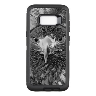 Capa OtterBox Defender Para Samsung Galaxy S8+ AnimalArtBW_Eagle_20170602_by_JAMColors