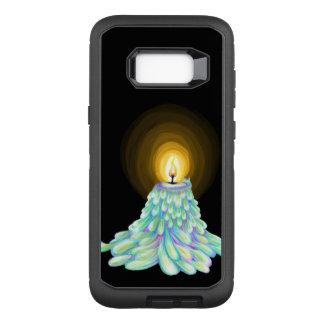 Capa OtterBox Defender Para Samsung Galaxy S8+ Arte de derretimento colorida da vela em virtude