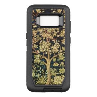 Capa OtterBox Defender Para Samsung Galaxy S8 Árvore de William Morris do Pre-Raphaelite do