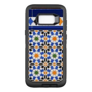 Capa OtterBox Defender Para Samsung Galaxy S8+ Azulejos de Granada