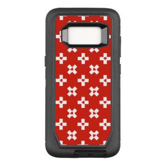 Capa OtterBox Defender Para Samsung Galaxy S8 Bandeira da suiça com teste padrão do coração