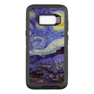 Capa OtterBox Defender Para Samsung Galaxy S8+ Belas artes do vintage da noite estrelado de