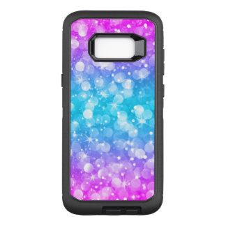 Capa OtterBox Defender Para Samsung Galaxy S8+ Brilho colorido moderno GR2 de Bokeh