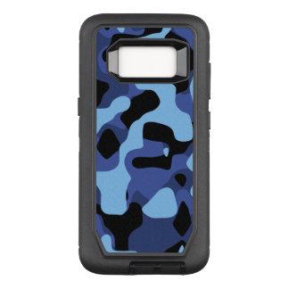 Capa OtterBox Defender Para Samsung Galaxy S8 Caixa azul do defensor de Camo OtterBox Samsung