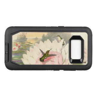 Capa OtterBox Defender Para Samsung Galaxy S8 Caixa da galáxia S8 de Samsung do defensor da flor
