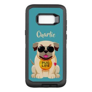 Capa OtterBox Defender Para Samsung Galaxy S8+ Capas de telefone feitas sob encomenda do nome &