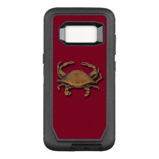 Capa OtterBox Defender Para Samsung Galaxy S8 Caranguejo de cobre da galáxia S8 em Borgonha