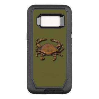 Capa OtterBox Defender Para Samsung Galaxy S8 Caranguejo de cobre da galáxia S8 no verde