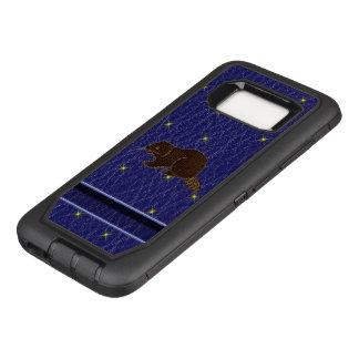 Capa OtterBox Defender Para Samsung Galaxy S8 Castor do zodíaco do nativo americano do