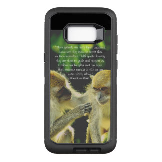 Capa OtterBox Defender Para Samsung Galaxy S8+ Citações da amizade por Vincent van Gogh