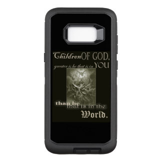 Capa OtterBox Defender Para Samsung Galaxy S8+ Crianças da galáxia S8 de Samsung do deus+ caso