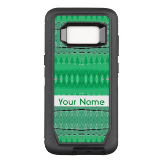 Capa OtterBox Defender Para Samsung Galaxy S8 Design abstrato verde