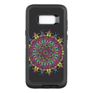 Capa OtterBox Defender Para Samsung Galaxy S8+ Design colorido super da mandala