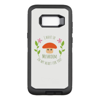 Capa OtterBox Defender Para Samsung Galaxy S8+ Eu tenho assim o cogumelo em meu coração para você
