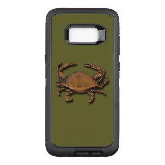 Capa OtterBox Defender Para Samsung Galaxy S8+ Galáxia S8 mais o caranguejo de cobre no verde