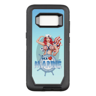 "Capa OtterBox Defender Para Samsung Galaxy S8 Galáxia ""SEXY"" S8 DS dos EUA Samsung do FUZILEIRO"